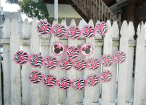 Minnie Mouse Birthday Party 4