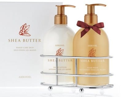 SheaButterGift Arbonne Skin Care Giveaway!