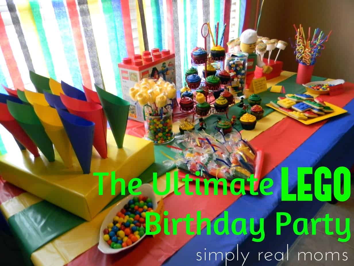 The Ultimate Lego Birthday Party 1