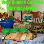 The Very Hungry Caterpillar Birthday Bash 500x3331 150x150 Jungle Themed Party  DIY  Number Piñata