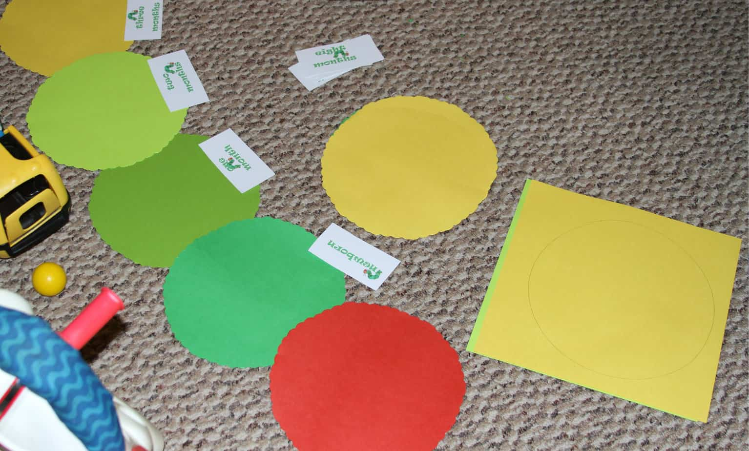 The Very Hungry Caterpillar birthday banner instructions. Too cute ...