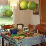 The Very Hungry Caterpillar birthday decorations Adorable 500x650 150x150 Jungle Themed Party  DIY  Number Piñata