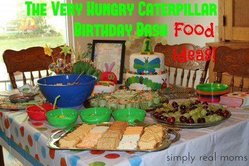Very Hungry Caterpillar Birthday Bash food ideas 500x333 The Very Hungry Caterpillar Birthday Bash Food!