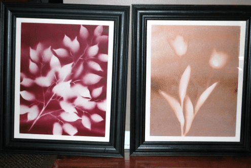 DIY Spray Paint Flower Art—Easy AND Cheap! 8