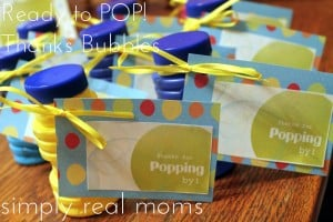 Ready to POP! Baby Shower With FREE Printables!  2
