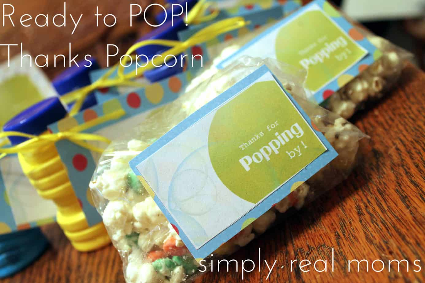 ready popcorn thanks Simply Real Moms
