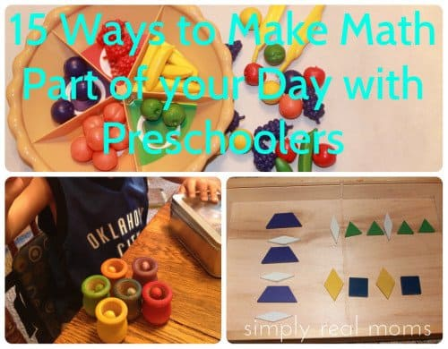 15 ways to make math a part of your day with preschoolers 500x390 15 Ways to Make Math Part of Your Day with Preschoolers