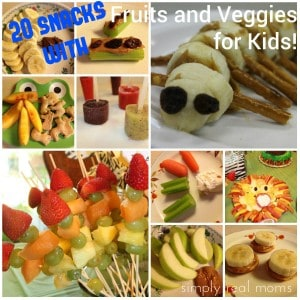 20 Snacks Involving Fruits or Veggies that Your Kids WIll EAT!  14