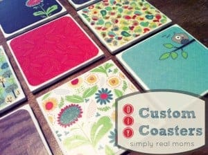 Simply Made Sunday: Custom Coasters 1
