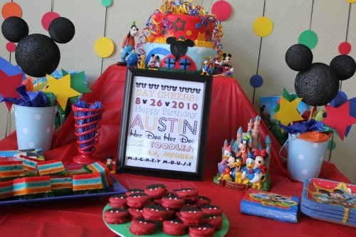 Ultimate Mickey MouseThemed Party