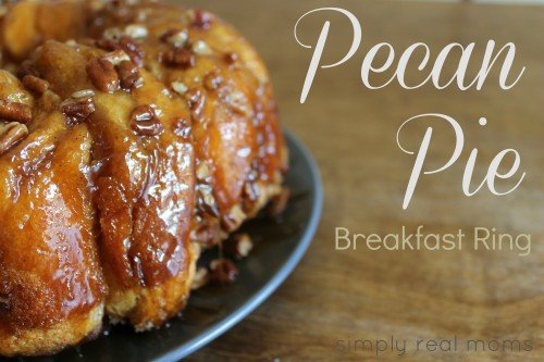 AMAZING delicious Pecan Pie Breakfast Ring