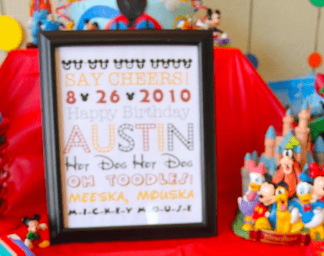 FREE Mickey Mouse-Themed Birthday Printable 4