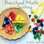 Preschool Math series this article sorting. Love the patterning article too. 500x4111 150x150 Preschool Math: Counting and Number Concepts