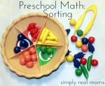 Preschool Math series-this article, sorting. Love the patterning article, too.