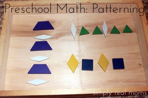 Preschool math pattern ideas the most ideas youll find 1 500x333 15 Ways to Make Math Part of Your Day with Preschoolers