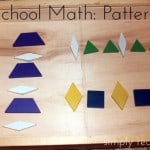Preschool Math: Patterning