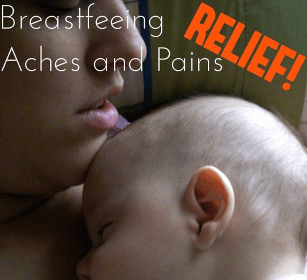 Relief for Breastfeeding Pains and Problems 3