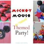 Ultimate Mickey Mouse-Themed Party!