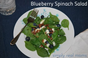 Blueberry Spinach Salad: A Healthy Thanksgiving Side Dish! 1