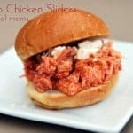 5 Ingredient Slow Cooker Buffalo Chicken Sliders—Perfect for Game Day!