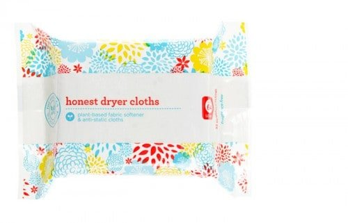 honest dryer cloths2 500x321 Honest Company Laundry Products