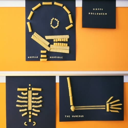 0206 kids gtpastaskeletons sq 500x500 31 Days of Halloween: 10 Crafts to Do with Your Kids