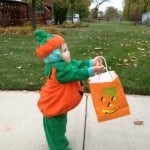 31 Days of Halloween: Trick or Treating with a Toddler