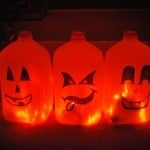 31 Days of Halloween: Milk Carton Pumpkins