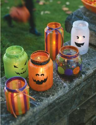 EP halloween lanterns1 31 Days of Halloween: 10 Crafts to Do with Your Kids