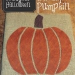 31 Days of Halloween Simply Made Sunday: Burlap Pumpkin