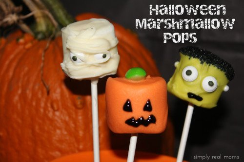 IMG 9712 500x333 31 Days of Halloween: Halloween Marshmallow Pops