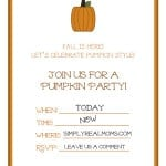 Pumpkin Invites filled 500x6471 150x150 The Ultimate Tween Sleepover Party!!!