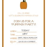 Pumpkin Invites filled 500x6471 150x150 First Birthday Photo Banner