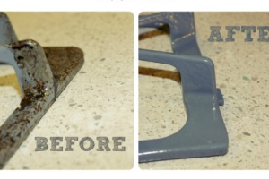 Clean Your Stove Grates! Tried & Tested.