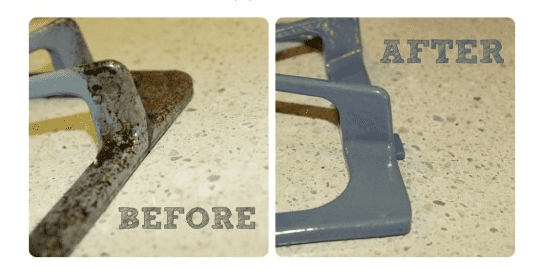 Clean Your Stove Grates! Tried & Tested. 7