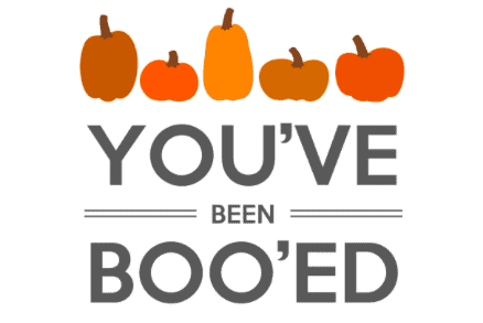31 Days of Halloween: You've Been Booed! 7