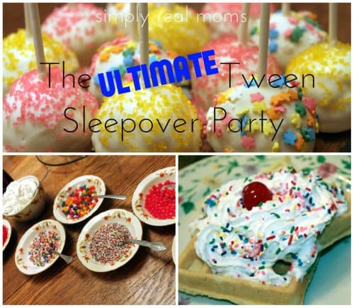 The Ultimate Tween Sleepover Party ideas 500x435 The Ultimate Tween Sleepover Party!!!