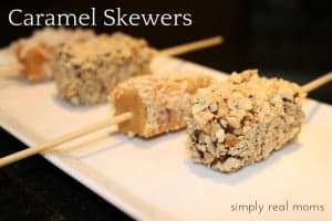 Treats for the Adults: Caramel Skewers 3