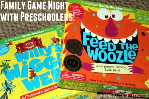 Family Game Night with Preschoolers!  1