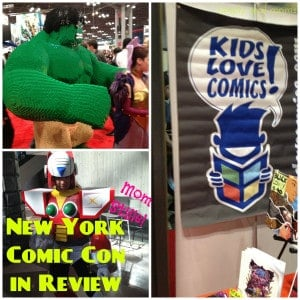New York Comic Con in Review ~ Mom Style!  1