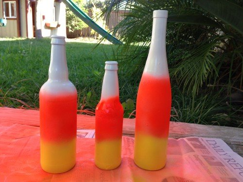 photo 3 500x375 31 Days of Halloween: Candy Corn Bottles