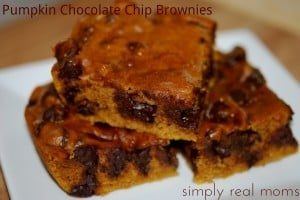 Pumpkin Chocolate Chip Brownies—A Delicious Fall Treat! 1