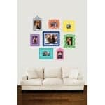 Butch and Harold's Sticker Wall Art Picture Frames: This Holiday Season's Hot Gift for Teens!