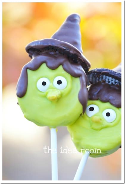 witch oreo pops wm thumb 31 Days of Halloween: 10 Crafts to Do with Your Kids