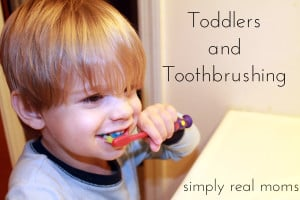 Toddlers and Toothbrushing