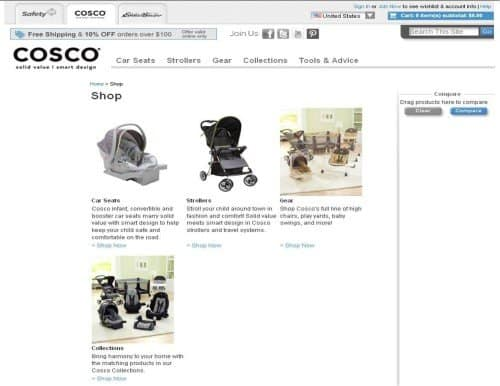 Cosco Product Page 500x386 Safety First Ask Our Expert Child Safety Mega Giveaway
