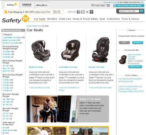 Safety 1st Car Seats Page 500x462 Safety First Ask Our Expert Child Safety Mega Giveaway