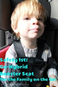 Go-Hybrid Booster Seat for the Family on the Go!  1