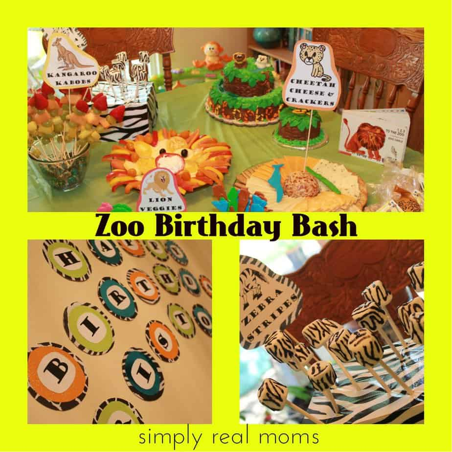 Zoo Birthday Bash; Cake, Food, Decor And More!
