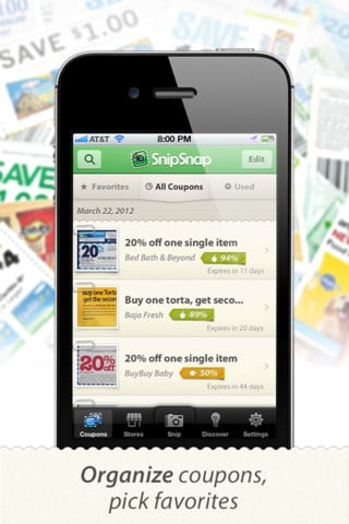 snipsnap2 Snip Snap The Coupon App: How I Have Saved Hundreds of Dollars!